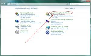 Adgangskode til Windows