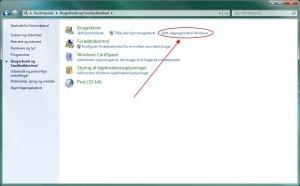 Skift adgangskode til Windows